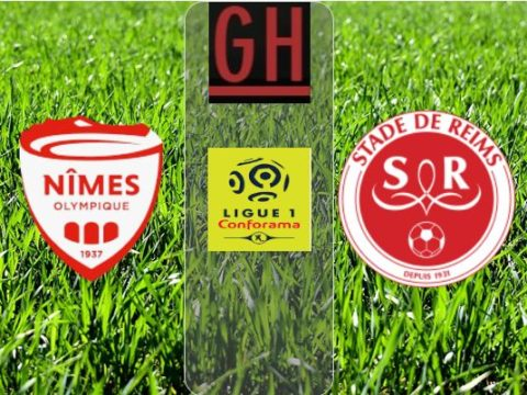 Nimes vs Reims - Ligue 1 Conforama 2019-2020 footballgh.org