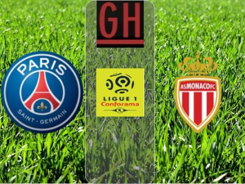 PSG vs Monaco - Ligue 1 Conforama 2019-2020 footballgh.org