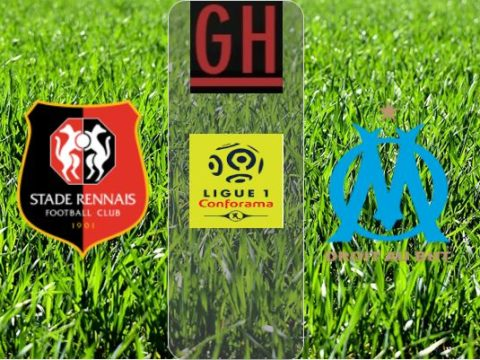 Rennes vs Marseille - Ligue 1 Conforama 2019-2020 footballgh.org