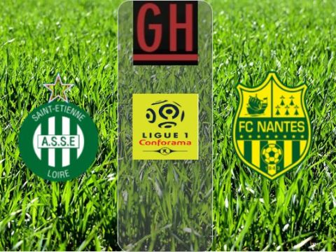 Saint-Etienne vs Nantes - Ligue 1 Conforama 2019-2020 footballgh.org