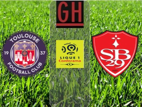 Toulouse vs Brest - Ligue 1 Conforama 2019-2020 footballgh.org