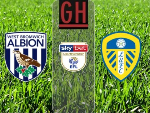 West Bromwich vs Leeds - Championship 2019-2020 footballgh.org