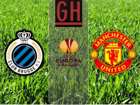 Club Bruges vs Manchester United - UEFA Europa League 2019-2020 footballgh.org
