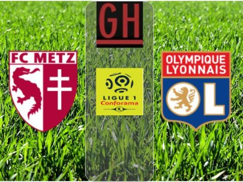 Metz vs Lyon - Ligue 1 Conforama 2019-2020 footballgh.org