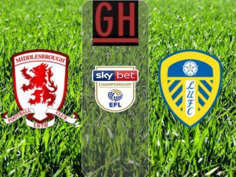 Middlesbrough 0-1 Leeds - Championship 2019-2020 footballgh.org