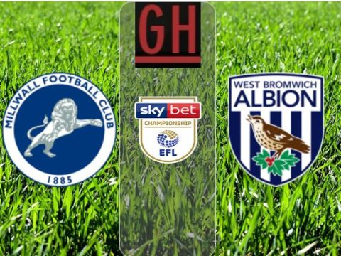 Millwall vs West Bromwich - Championship 2019-2020 footballgh.org