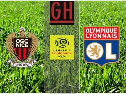 Nice vs Lyon - Ligue 1 Conforama 2019-2020 footballgh.org