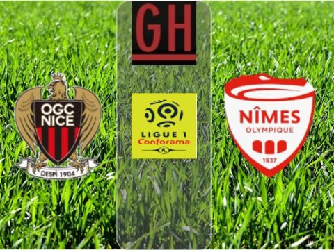 Nice vs Nimes - Ligue 1 Conforama 2019-2020 footballgh.org