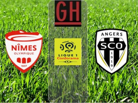 Nimes vs Angers - Ligue 1 Conforama 2019-2020 footballgh.org