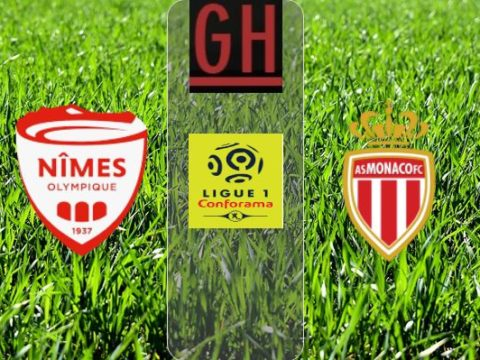 Nimes vs Monaco - Ligue 1 Conforama 2019-2020 footballgh.org