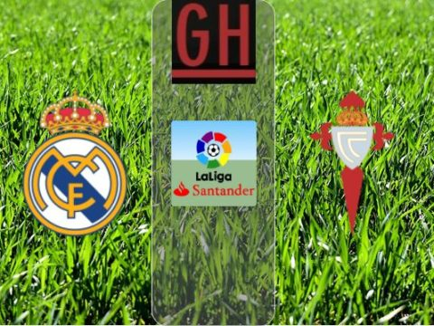 Real Madrid vs Celta Vigo - LaLiga Santander 2019-2020 footballgh.org
