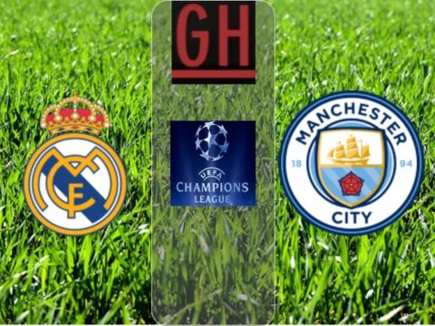 Real Madrid vs Manchester City - UEFA Champions League 2019-2020 footballgh.org