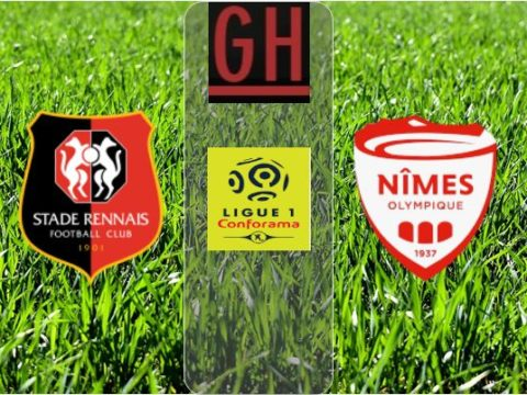 Rennes vs Nimes - Ligue 1 Conforama 2019-2020 footballgh.org