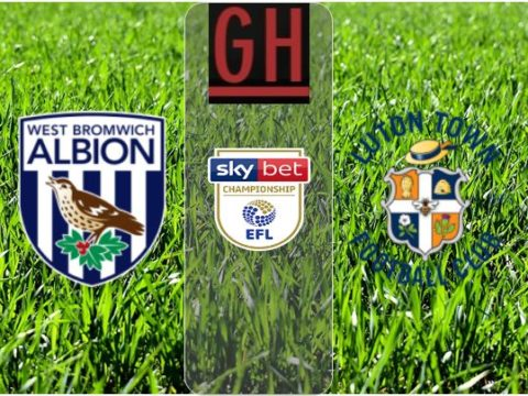 West Bromwich vs Luton - Championship 2019-2020 footballgh.org