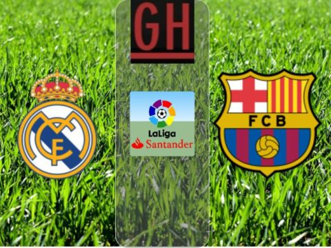 Real Madrid vs Barcelona - LaLiga Santander 2019-2020 footballgh.org