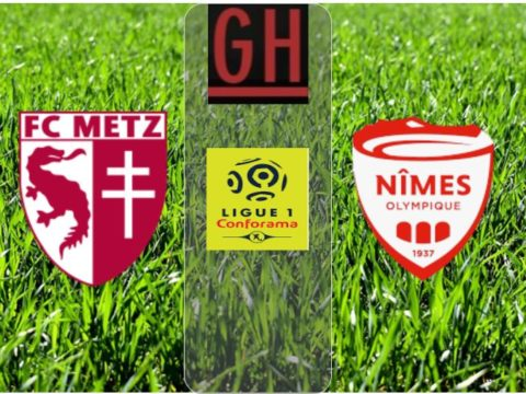 Watch Metz vs Nimes - Ligue 1 Conforama 2019-2020