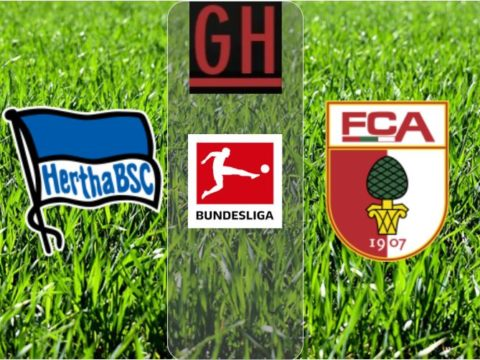 Hertha Berlin vs Augsburg, Watch goals and highlights football BundesLiga 2019-2020