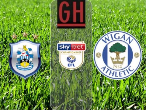 Huddersfield vs Wigan - Watch goals and highlights football Championship 2019-2020