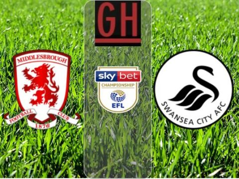Middlesbrough vs Swansea - Watch goals and highlights football Championship 2019-2020