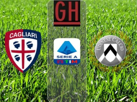 Cagliari vs Udinese - Watch goals and highlights football Serie A 2019-2020