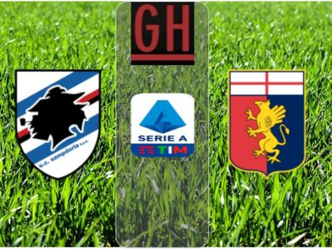 Sampdoria 1-2 Genoa - Watch goals and highlights football Serie A 2019-2020
