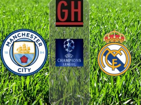 Manchester City vs Real Madrid - Watch goals and highlights football UEFA Champions League 2019-2020