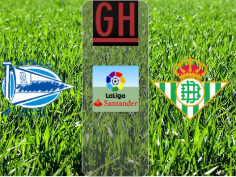 Alaves vs Betis - Watch goals and highlights football LaLiga Santander 2020-2021