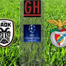 PAOK Saloniki vs Benfica - Watch goals and highlights football UEFA Champions League 2020-2021