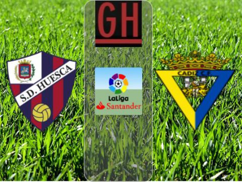 Watch Huesca vs Cadiz - LaLiga Santander 2020-2021