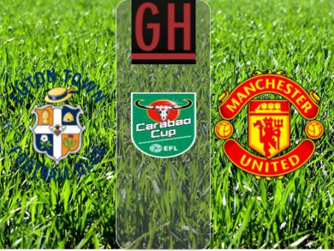 Watch Luton vs Manchester United - Carabao Cup 2020-2021