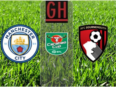 Watch Manchester City vs Bournemouth - Carabao Cup 2020-2021