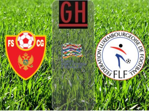 Watch Montenegro vs Luxembourg - UEFA Nations League 2020-2021, football highlights