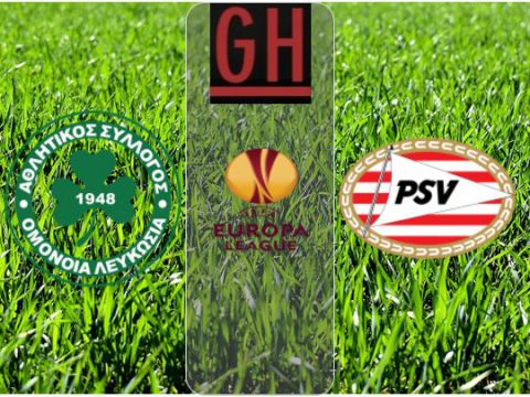 Watch Omonia vs PSV Eindhoven - UEFA Europa League 2020-2021, football highlights