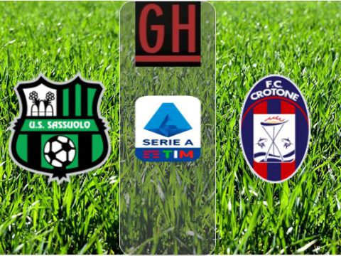 Watch Sassuolo vs Crotone - Serie A 2020-2021, football highlights
