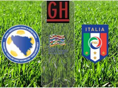 Bosnia-Herzegovina vs Italy – UEFA Nations League 2020-2021, football highlights
