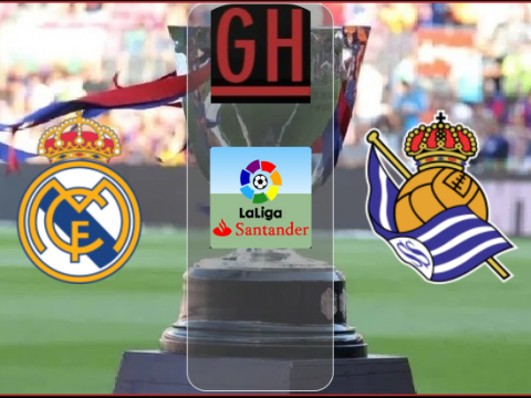 Real Madrid vs Real Sociedad - Laliga Santander 2020-2021