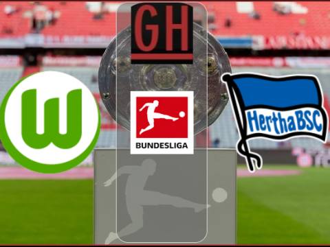 Wolfsburg vs Hertha Berlin - Bundesliga 2020-2021