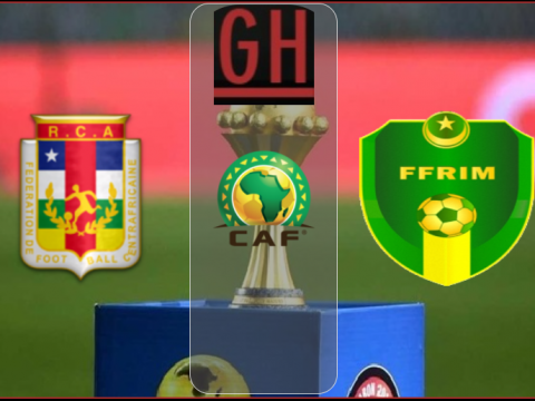 Central Africa vs Mauritania - CAF 2021 Qualifiers