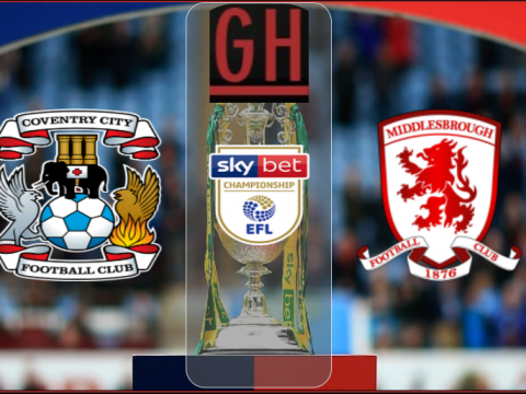 Coventry vs Middlesbrough - Championship 2020-2021