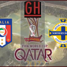 Italy vs Northern Ireland - World Cup Qualifiers 2022 2020-2021