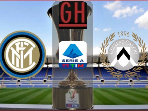 Inter Milan vs Udinese - Serie A 2020-2021