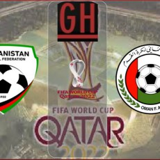Afghanistan vs Oman - World Cup Qualifiers 2022
